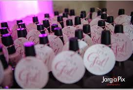 nail baby shower favors the glam fairy s baby shower the glam fairy prisco