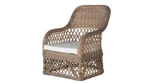 traditional armchair rattan garden wina flamant home interiors