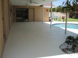 painting patio floor
