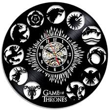theme clock of thrones theme creative black vinyl record