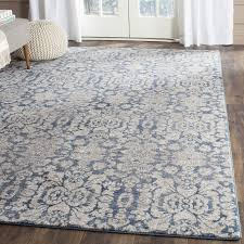 Grey And Beige Area Rugs Darby Home Co Sofia Blue Beige Area Rug Reviews Wayfair