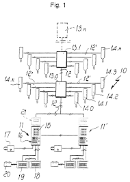 patent ep0818914a1 two wire building intercommunication system
