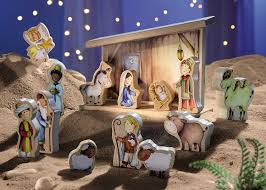 amazon com haba nativity set toys u0026 games