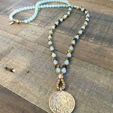 beaded necklace pendant images Necklace ideas with beads la necklace jpg
