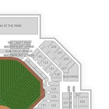 Yankee Stadium Floor Plan Petco Park Seating Chart U0026 Interactive Seat Map Seatgeek