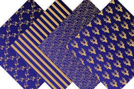 royal blue wrapping paper royal blue and gold digital backgrounds design bundles
