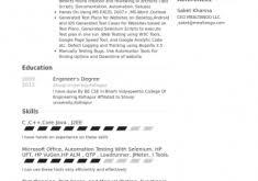 Sample Test Engineer Resume by Download Qa Test Engineer Sample Resume Haadyaooverbayresort Com