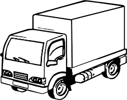 job truck coloring page wecoloringpage