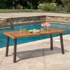 Outdoor Wooden Patio Furniture Wood Patio Furniture Outdoor Seating Dining For Less