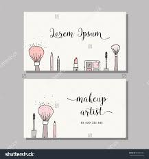100 makeup business cards templates makeup business cards