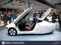 volkswagen xl1 vw xl1 concept car at the ami auto mobile international trade