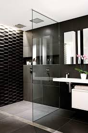 black white and silver bathroom ideas classic black and white bathroom black white glossy finished wall