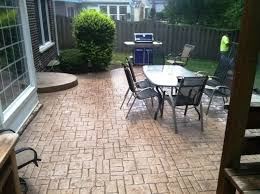 Cost Of Concrete Patio by Best Stamped Concrete Patios Ideas