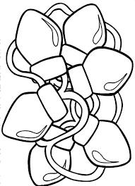 christmas light coloring page christmas lights coloring pages free