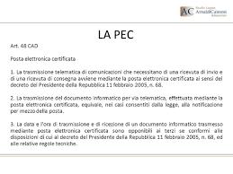 presidenza consiglio dei ministri pec posta elettronica certificata stato dell arte e prospettive ppt