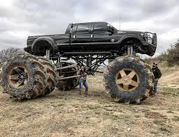 monster trucks mudding videos the world u0027s largest dually truck the drive
