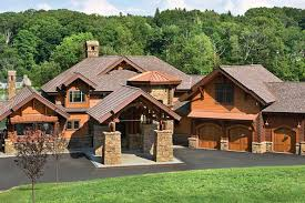Timber Frame Cottage by New Jersey Log And Timber Frame Homes By Precisioncraft