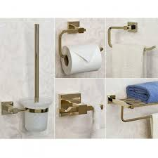 albury 5 piece bathroom accessory set bathroom