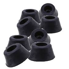plastic table leg feet whism 8pcs black rubber chair table leg feet protector non slip