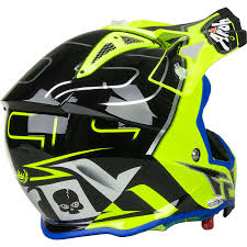 awesome motocross helmets airoh new mx 2017 aviator 2 2 le cairoli flo yellow blue motocross