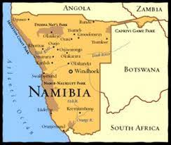 africa map kalahari desert 10 interesting namibia facts my interesting facts