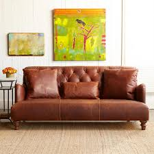 Painting A Leather Sofa Alcazar Leather Sofa Robert Redford U0027s Sundance Catalog