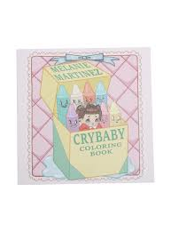 melanie martinez cry baby coloring book topic