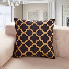 Living Room Pillows by Decor Metallic Foil Gold Throw Pillows For Home Accessories Ideas