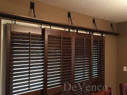 interior sliding door shutters image on brilliant home decor