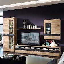 Wohnzimmerschrank Ohne Tv Wohnwand Mit 300 Cm Breite Kaufen Pharao24