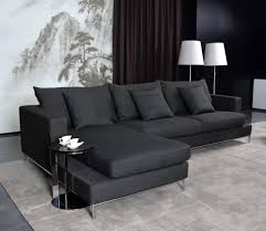 black sectional sofa bed living room modern furniture contemporary furniture