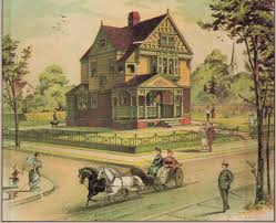 victorian homes needed lawn american gardening