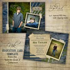 senior graduation announcement templates graduation announcement card template for photographers just