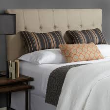 buy humble haute fulton upholstered headboard color beige size