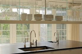 Hanging Shelves From Ceiling by Glass Shelves Design Ideas Home Decor Pictures