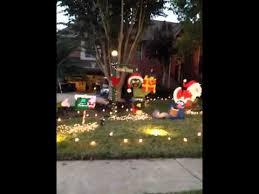 christmas yard sesame christmas yard decorations