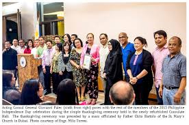 philippine consulate hosts thanksgiving ceremony for the