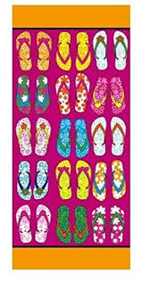flip flop towel towel flip flop design swimming towel co uk