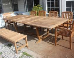 Grade A Teak Patio Furniture by Etsy Your Place To Buy And Sell All Things Handmade