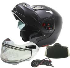 heated motorcycle clothing amazon com modular dual visor snowmobile helmet w electric