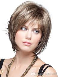 pics of new short bob haircuts on jordan dunn and lilly collins women short wigs natural straight black brown synthetic wigs