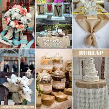 burlap decorations for wedding burlap wedding decor wedding guide