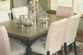 dining room cool white fabric dining room chairs home interior