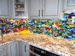 mosaic glass backsplash kitchen colorful abstract kitchen backsplash designer glass mosaics