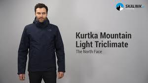 men s mountain light jacket kurtka the north face mountain light triclimate skalnik pl youtube