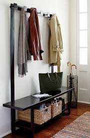 Coat Tree With Bench Welkom Hall Tree Bench With Coat Rack Modern Entry Chicago