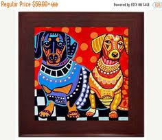 affenpinscher venta mexico 45 off today field spaniel art tile ceramic coaster print of