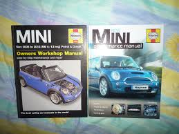 haynes mini workshop manual 4904 06 13 u0026 new mini performance