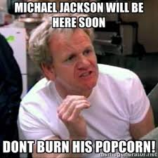 Michael Jackson Popcorn Meme - michael jackson will be here soon don t burn his popcorn popcorn