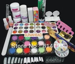 compare prices on nails acrylic full set online shopping buy low